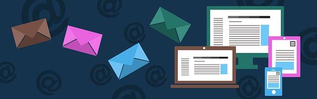 obálky email