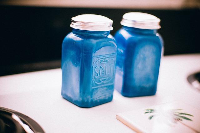 modrá solnička