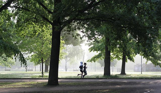 běžící lidé